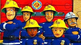Пожарная команда Понтипанди - собираем пазлы для детей из мультфильма Пожарный Сэм | Fireman Sam
