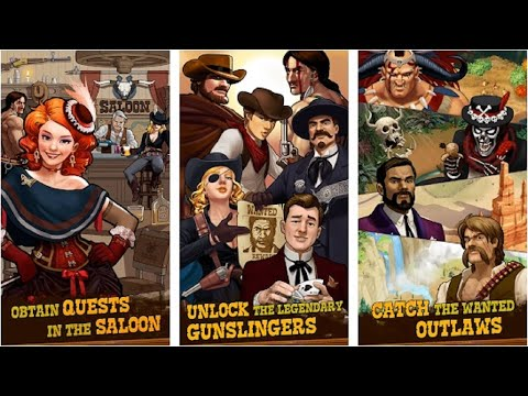 Poker Showdown: Card Battle & Western Shootout - Gameplay - Tinker Troupe - 동영상