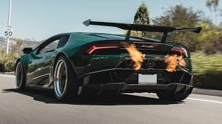 homepage tile video photo for Twin Turbo Lamborghini Rolling Anti-Lag is INSANE!!!