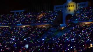 Coldplay Barcelona 2016 - Up & Up + Fireworks (Last song)
