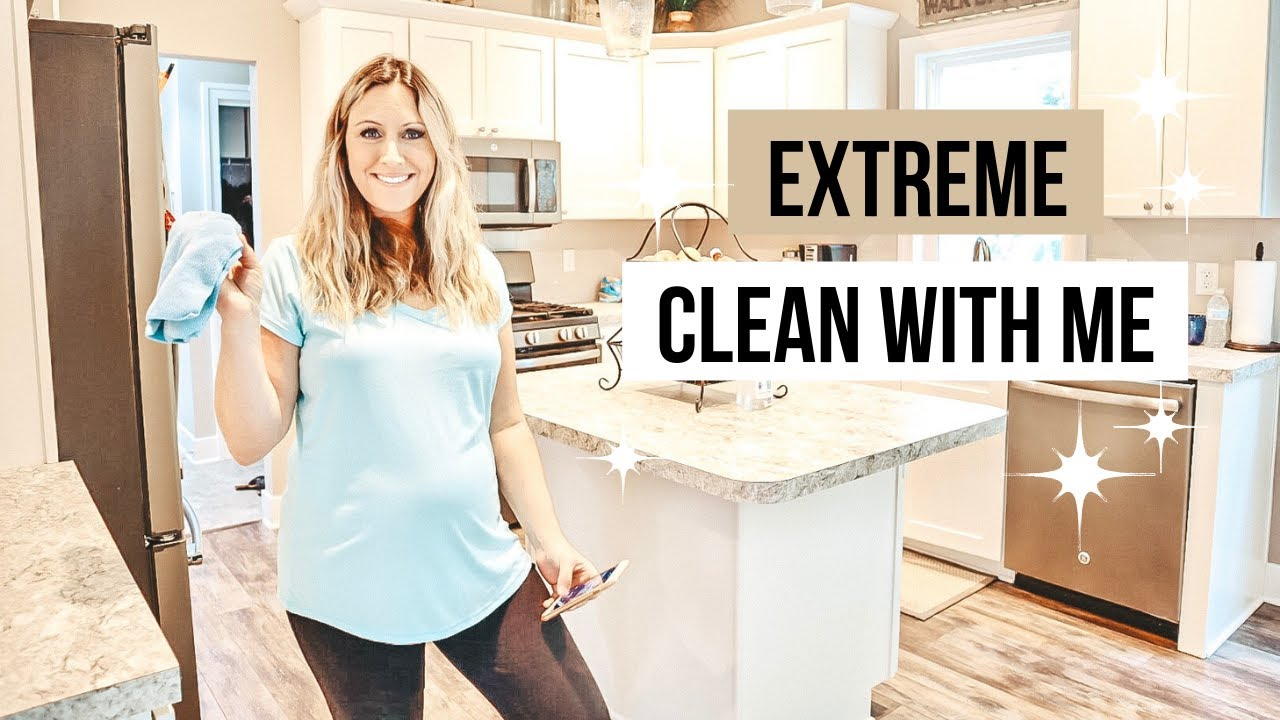 EXTREME CLEAN WITH ME 2019 | ULTIMATE CLEAN WITH ME | CLEANING MOTIVATION