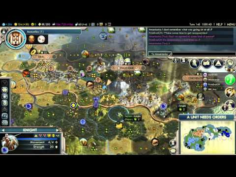 Civilization V Multisession Game 1 Byzantium P07