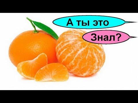 Очищение мандаринами. Суставы и сосуды. Как очистить почки. Сильнейший рецепт