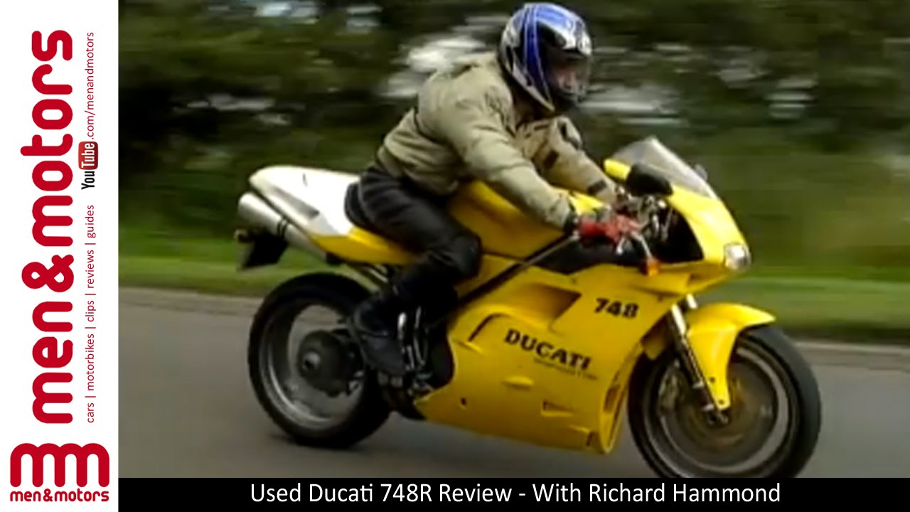 used ducati 748r review - with richard hammond - youtube