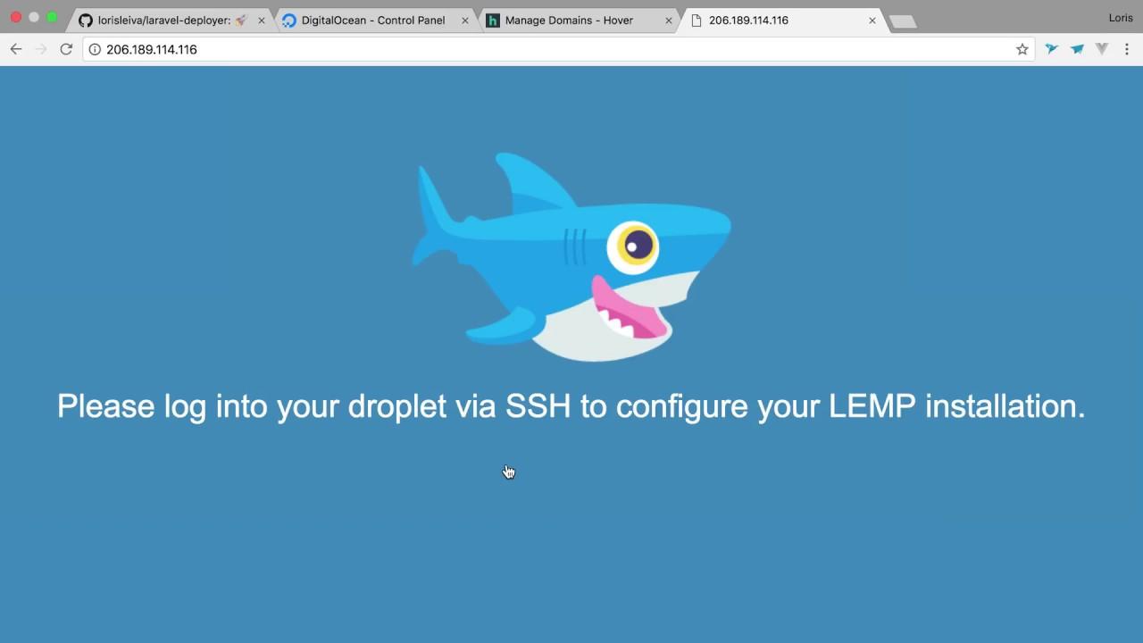Setting up a Laravel server | Loris Leiva