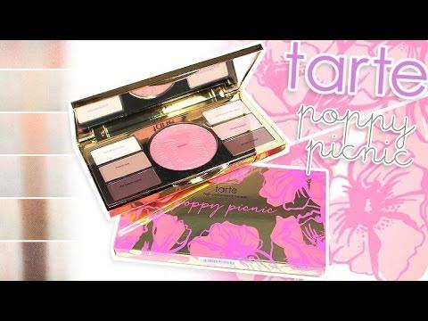 Review Swatches Tarte Poppy Picnic Amazonian Clay Eye Cheek Palette