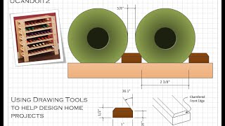 Wine Rack 01 - Custom Design With Ms Visio