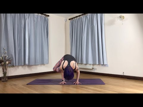 how to do side crow pose  arm balance tutorial  youtube