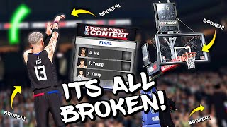 WORST THREE POINT CONTEST WIN PERFORMANCE OF ALL-TIME! HOW CAN IT BE SO BAD? - NBA 2K20 MyCAREER #52