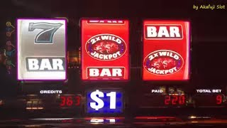 SMOKIN 7s $1 Slot Machine Max Bet $9, Wild Gems $1 Slot Max Bet $9, BARONA, カルフォルニアカジノ、スロット