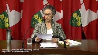 Ontario environmental commissioner Dianne Saxe in October condemned years of inaction by the provincial government in Aamjiwnaang First Nation and Grassy Narrows.