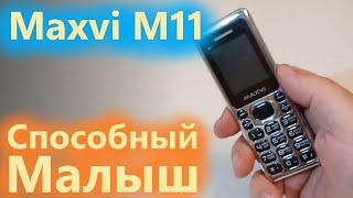 мобильный телефон Maxvi M11 обзор