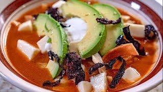 Sopa De Tortilla | Recetas de Desayunos Mexicanos Faciles