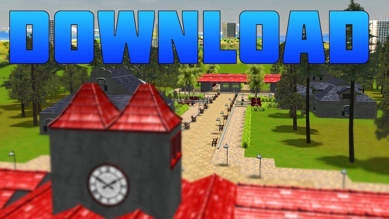 RCT3 - Building a GIANT Park - RCT3 - GIANT PARK DOWNLOAD!!