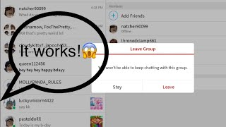 How To Delete/remove A Group On Roblox!!!