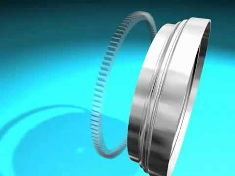 Volante motor bimasa - Animacion 3D