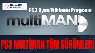 PS3 4.84 MultiMAN İndir   PS3 Multiman Yükleme Rehberi YENİ Güncel Sürüm