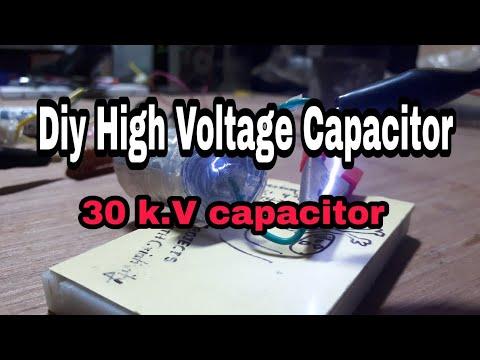 #EP-57 Diy High Voltage Capacitor