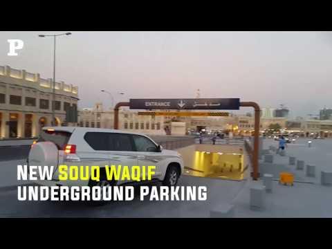 New Souq Waqif underground parking