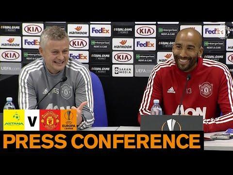 Press Conference | FC Astana v Manchester United | UEFA Europa League