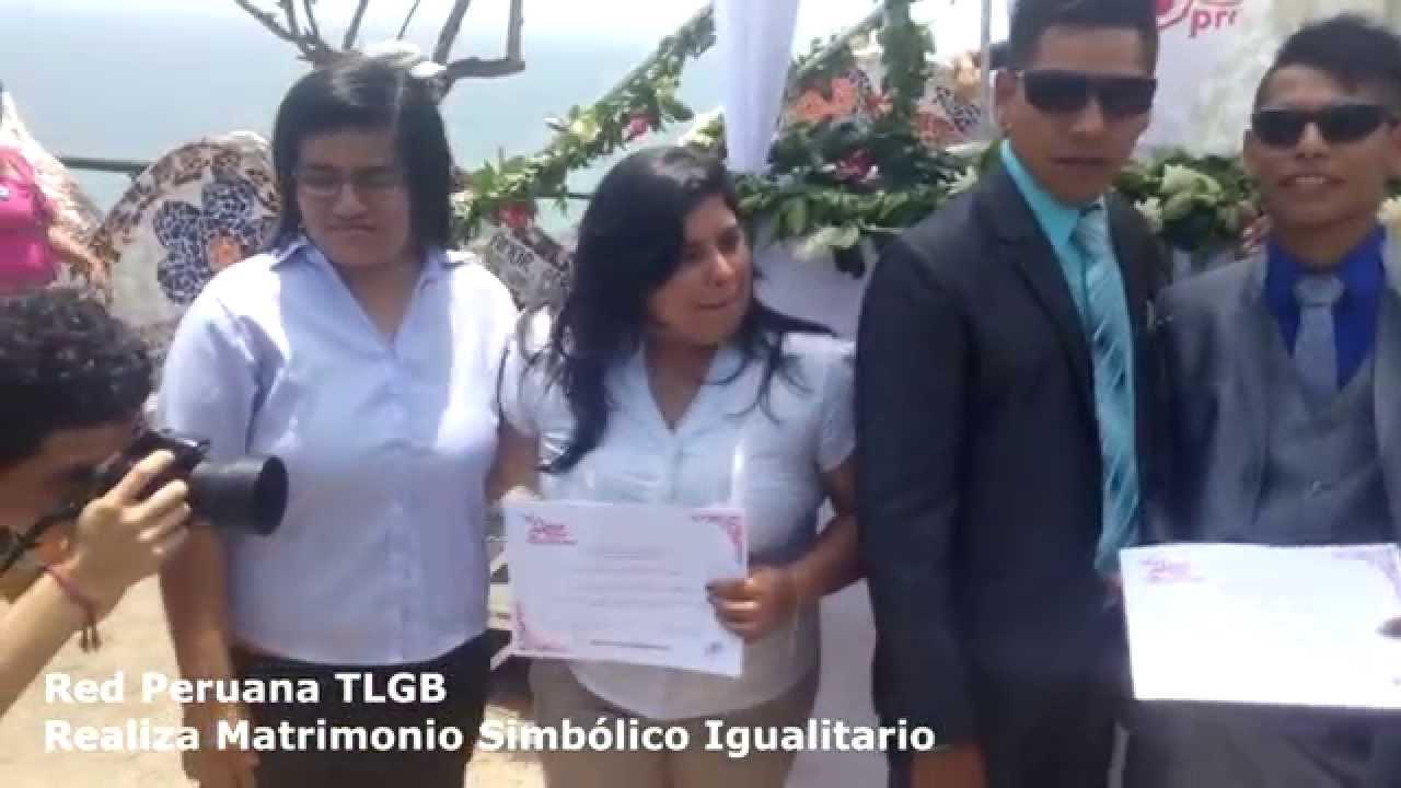 Matrimonio Simbolico Peru : Video candidata a alcaldesa contrae matrimonio con la