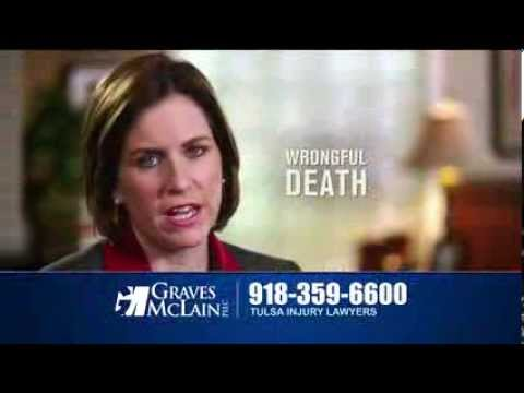 Tulsa Car Accident Lawyer | Make 1 Call Wrongful Death | OK Car Accident Attorneys | Lawyer TV Comme