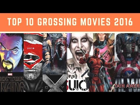 Top Grossing Movies 2016   2016 Movies: Top 10 Biggest Box Office Hits   Highest Grossing Movies