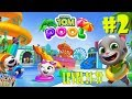 Talking Tom Pool Level 21-32 Walkthrough Gameplay #2