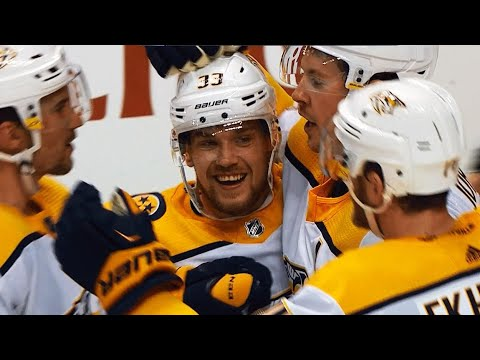 Josi's Hail Mary pass springs Arvidsson, Johansen for two-on-none shorthanded goal
