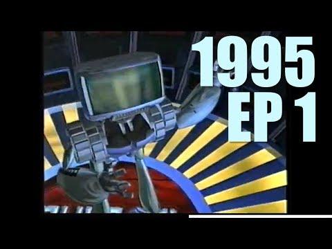 Cybernet 1995  EP 1  Virtua Cop  Total NBA '96  Fatal Racing