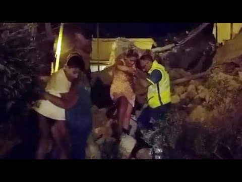 Quake strikes tourist-packed Italian island of Ischia