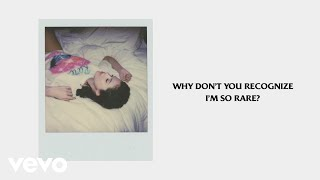 Cover images Selena Gomez - Rare (Official Lyrics)