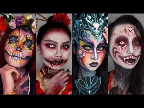 VLOG Halloween Night at Museum Angkut Batu Malang | Dark Noon Senjakala