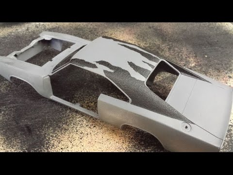 Ertl 1 18 Dodge Charger Diecast Barn Find Custom Vinyl Roof