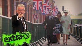 Experte Heinz Strunk winkt den Briten Good-Bye
