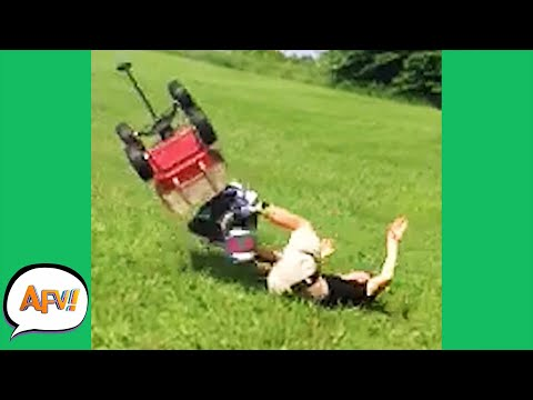 Why Did He Think This Would End Well?! 🤣 | Funny Fails | AFV 2021