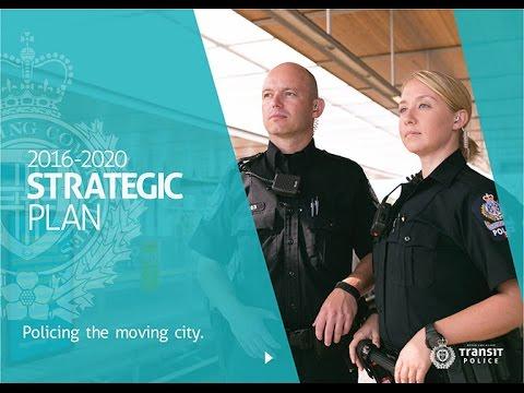 Transit Police 2016-2020 Strategic Plan