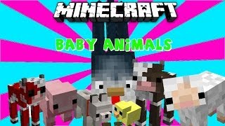 MUTANT!?-Baby Animals Mod [1.6.4] Deutsch
