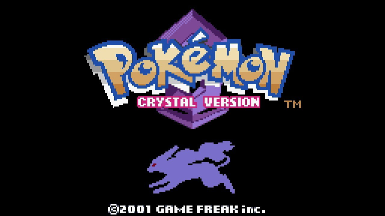 Pokemon Crystal Version playthrough ~Longplay~