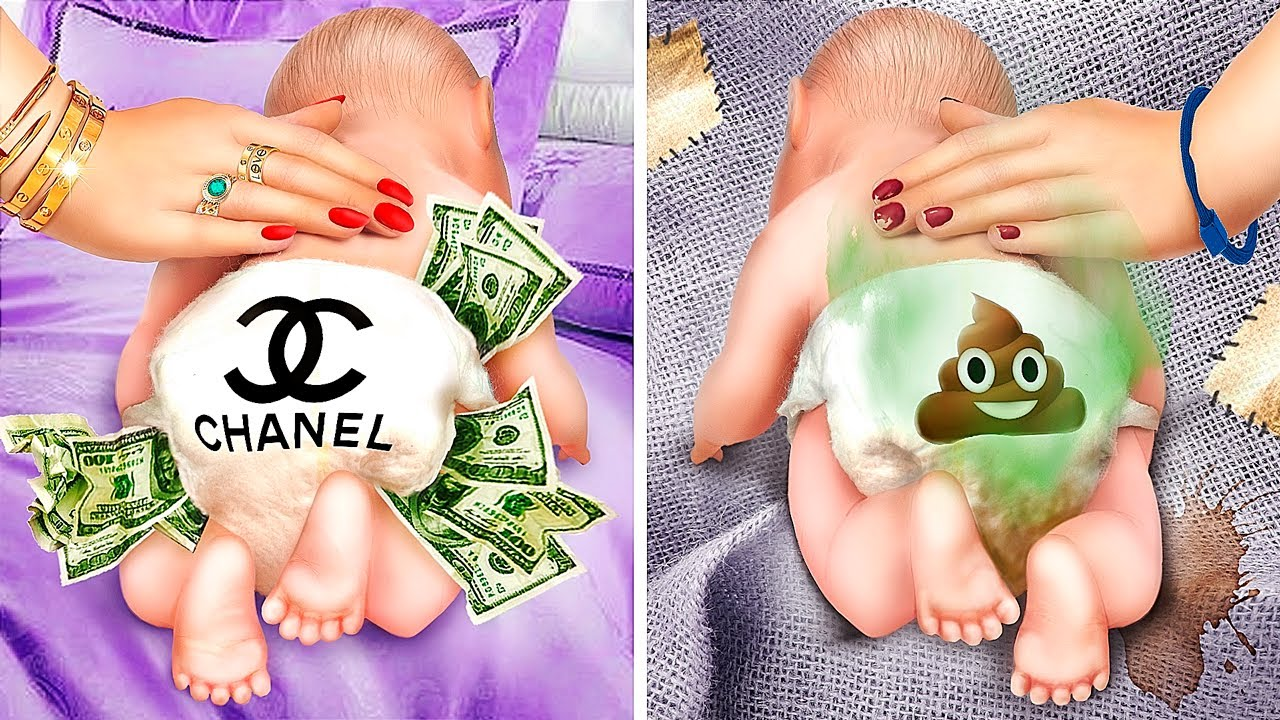Rich Mom vs Broke Mom / Funny Situations