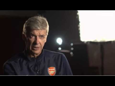 Arsene Wenger Extended Interview with Geoff Shreeves