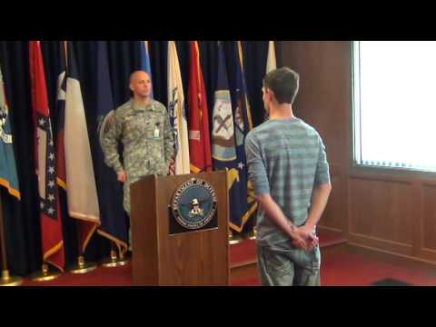 Dakota's enlistment into U.S. Army for MOS 11B