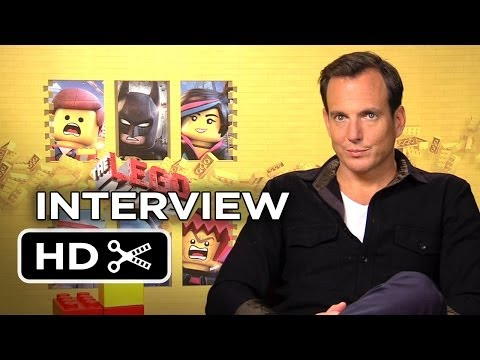 The Lego Movie Interview - Will Arnett (2014) - Animated Movie HD