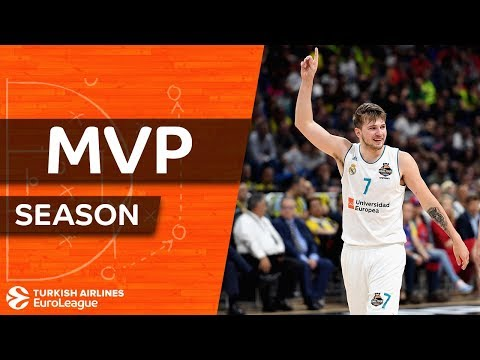 2017-18 Turkish Airlines EuroLeague MVP: Luka Doncic, Real Madrid