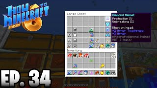 GETTING READY FOR TOMORROW'S DRAGON EVENT!!! |H6M| Ep.34 How To Minecraft Season 6 (SMP)