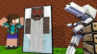 Monster School : Drawing GRANNY Challenge - Minecraft Animation