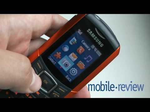 Samsung E2370 Outdoor Phone Demo