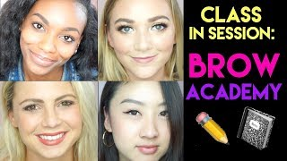 brow academy eyebrow tutorial | tarte talk