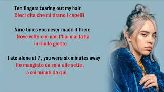 Billie Eilish - wish you were gay (Traduzione e testo)