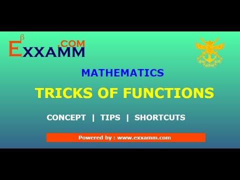 Tricks of functions for NDA | Mathematics | 13048